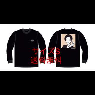 ソフ(SOPH)のKYNE X ROCKS ロングTシャツ 黒 サイズS ON AIR (Tシャツ/カットソー(七分/長袖))