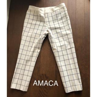 アマカ(AMACA)のAMACA クロップドパンツ(クロップドパンツ)