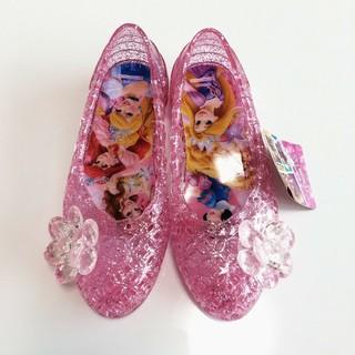 ディズニー(Disney)の新品! プリンセス キラキラサンダル 16㎝(サンダル)
