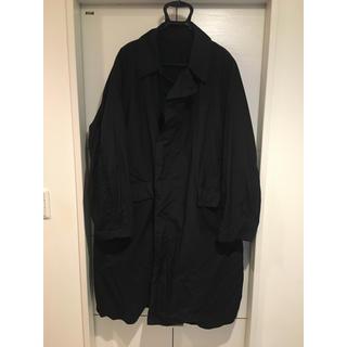 teatora device coat packable black 48(ステンカラーコート)