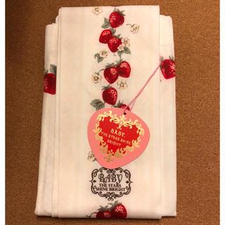 ベイビーザスターズシャインブライト(BABY,THE STARS SHINE BRIGHT)の新品 Strawberry Heart Drops柄 タイツ いちご ベイビー(タイツ/ストッキング)