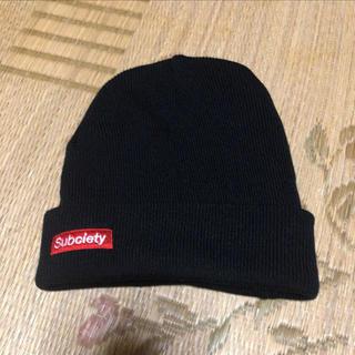 サブサエティ(Subciety)のサブサエティーニット帽(ニット帽/ビーニー)