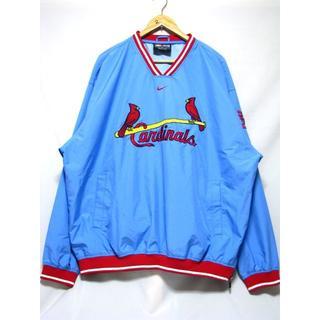 ナイキ(NIKE)の@超美品 実物MLB セントルイス・カージナルス ウィンドブレーカーj279 (ウェア)