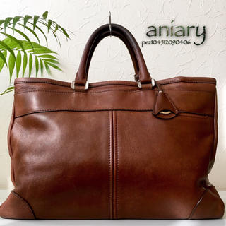 アニアリ(aniary)の◇美品◆ 日本製 aniary アニアリ 約5.3万 本革 レザービジネスバッグ(ビジネスバッグ)