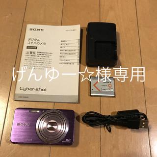 ソニー(SONY)のデジタルカメラ デジカメ SONY DSC-W630 パープル (コンパクトデジタルカメラ)