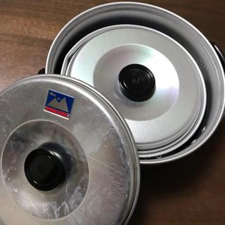 エバニュー(EVERNEW)のエバニュー クッカー 大小2つ  Tyrol cooker 2-S(調理器具)