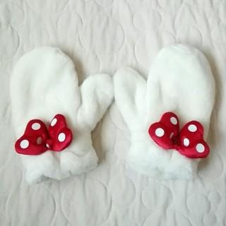 ディズニー(Disney)のディズニーリゾート ミニーちゃんミトン(手袋)