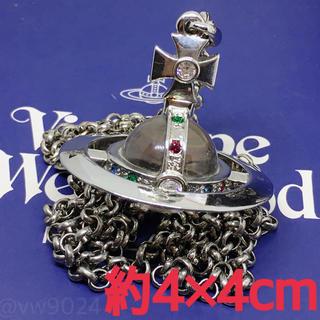 ヴィヴィアンウエストウッド(Vivienne Westwood)の工場刻印ハート入りスモールオーブネックレス シルバー(ネックレス)