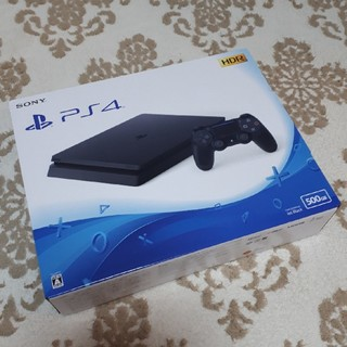 ソニー(SONY)の新品未開封! PS4  500GB(家庭用ゲーム機本体)