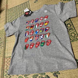 ジーユー(GU)のGUグラフィックTシャツ親子セット(Tシャツ/カットソー)