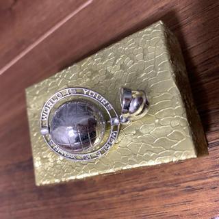 アヴァランチ(AVALANCHE)のAvalanche pendant top silver 地球儀(ネックレス)