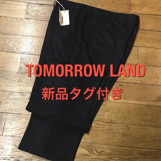 トゥモローランド(TOMORROWLAND)の【値下げ 新品】トゥモローランド パンツ スラックス スーツ(スラックス)
