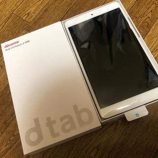 エヌティティドコモ(NTTdocomo)のdtab Compact d-02k(タブレット)