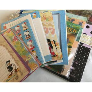 ディズニー(Disney)の☆便箋☆封筒☆多量(カード/レター/ラッピング)