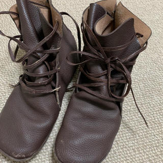 コース(KOOS)のKOOS✲︎皮ブーツ  23.5(ブーツ)