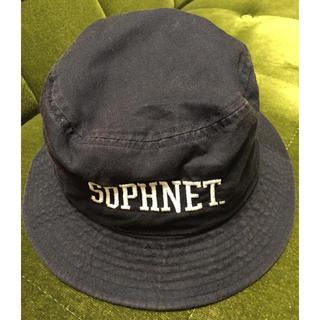 ソフネット(SOPHNET.)のソフネット バケットハット ネイビー(ハット)