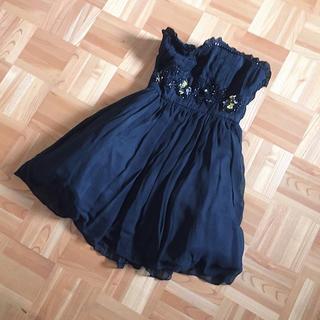 リトルニューヨーク(Little New York)のリトルニューヨーク ブラックドレス(ミディアムドレス)