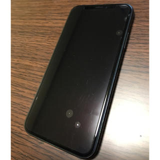 iphone x 64g スペースグレイ(スマートフォン本体)