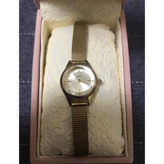 アガット(agete)のagate×ANAコラボ ゴールド時計(腕時計)