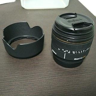 シグマ(SIGMA)のSONY用 SIGMA 30mm f1.4  EX DC(レンズ(単焦点))