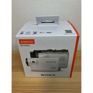 ソニー(SONY)の未使用 SONY ActionCam FDR-X3000(ビデオカメラ)