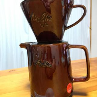 ハリオ(HARIO)のコーヒードリッパー メリタ 陶器 蓋なし(食器)