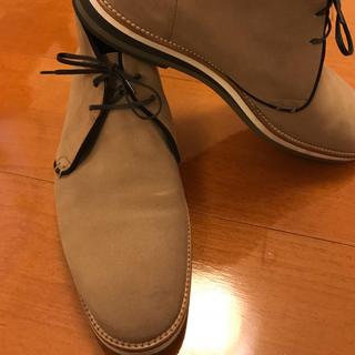 セルジオロッシ(Sergio Rossi)のセルジオロッシ ヌバック チャッカブーツ size5(ブーツ)
