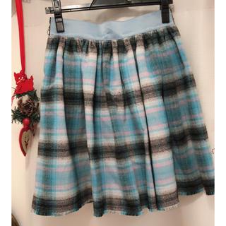 ハニーミーハニー(Honey mi Honey)のfleamadonna リバーシブル チェック スカート(ひざ丈スカート)