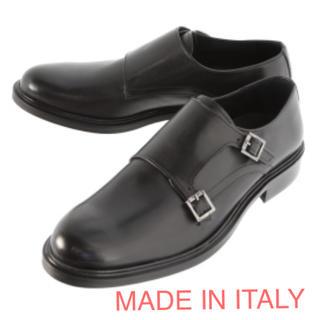 タカキュー(TAKA-Q)のMADE IN ITALY ダブルモンク ドレスシューズ ビジネスシューズ(ドレス/ビジネス)