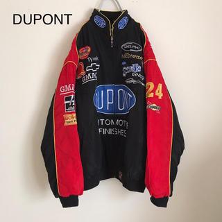 デュポン(DuPont)のDUPONT デュポン レーシングジャケット ナイロンジャケット MA-1(ナイロンジャケット)
