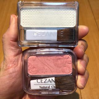 セザンヌケショウヒン(CEZANNE(セザンヌ化粧品))のセザンヌ❁ハイライト&チーク セット(チーク)