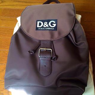 ドルチェアンドガッバーナ(DOLCE&GABBANA)のD&G  リュック(リュック/バックパック)