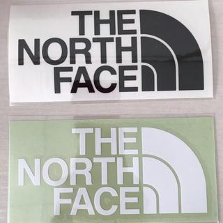 ザノースフェイス(THE NORTH FACE)のTHE NORTH FACE ステッカー ロゴ ノースフェイス ノース(ステッカー)