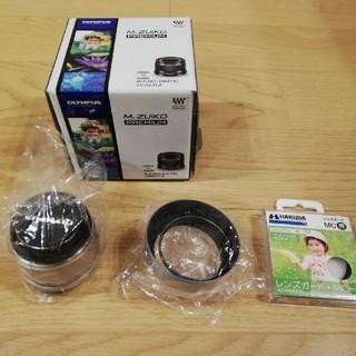 オリンパス(OLYMPUS)の美品 m.zuiko digital 25mm f1.8単焦点レンズ(レンズ(単焦点))