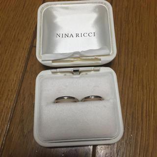 ニナリッチ(NINA RICCI)のNINA RICCH プラチナ ペアリング(リング(指輪))
