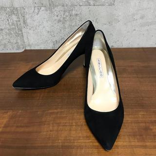 6a76abbc850d70 ペリーコ(PELLICO)の美品 PELLICO ペリーコ パンプス 37.5 アンドレア 黒 ブラック(ハイヒール