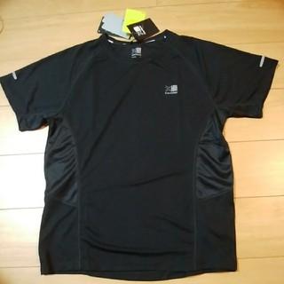 カリマー(karrimor)の2新品 Karrimor カリマー Tシャツ 欧州正規店購入 ブラック M(L)(ウェア)