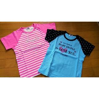 クラウンバンビ(CROWN BANBY)の140 クラウンバンビのTシャツ2枚 女児(Tシャツ/カットソー)
