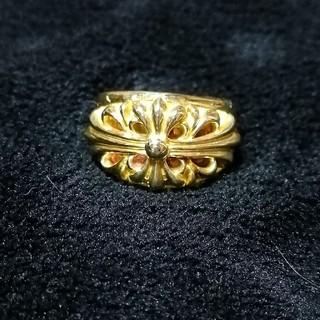 フローラルクロス リング ブラス 真鍮 17号(リング(指輪))