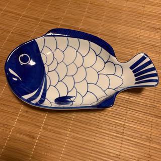 ダンスク(DANSK)の美品 DANSK ダンスク  アラベスク スモールフィッシュプラター 魚 皿(食器)