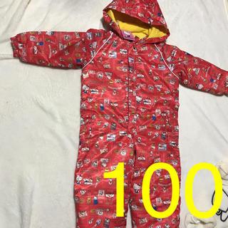 サンリオ(サンリオ)の値下げ!!新品 キティちゃん100 ジャンプスーツ100 スキーウエア(ウエア)