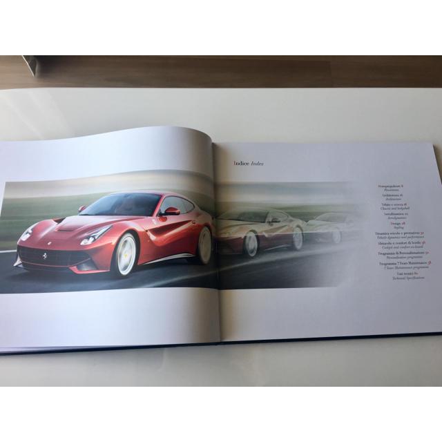 Ferrari(フェラーリ)のF12 Berlinetta、'14年Racing Days雑誌、オーナーズパス 自動車/バイクの自動車(カタログ/マニュアル)の商品写真