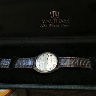 ウォルサム(Waltham)のWALTHAM Maxim メンズ手巻き時計動作品(腕時計(アナログ))