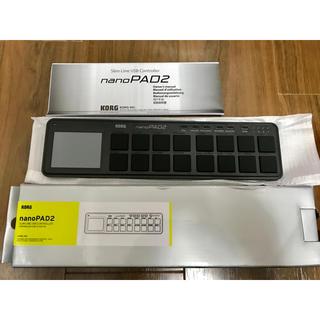 KORG nanoPAD2 ブラック MIDIコントローラー(MIDIコントローラー)