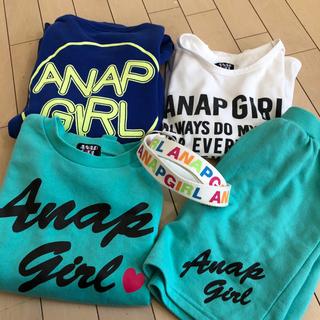 アナップキッズ(ANAP Kids)のANAP GIRL 140   5点セット(Tシャツ/カットソー)