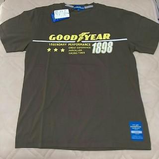 グッドイヤー(Goodyear)のLサイズ グッドイヤー ブラウン 半袖Tシャツ(Tシャツ/カットソー(半袖/袖なし))