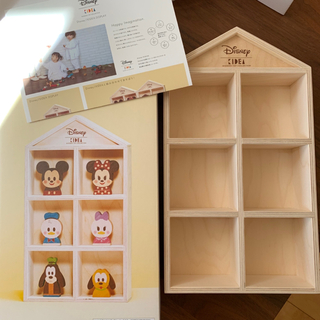 ディズニー(Disney)のkidea ディスプレイ 飾り棚(その他)