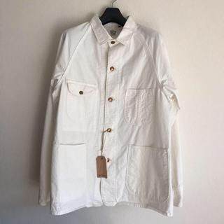 エンジニアードガーメンツ(Engineered Garments)のorSlow オアスロウ カバーオールジャケット ECRU(カバーオール)