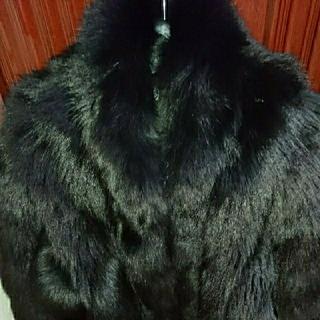サガフォルム(Sagaform)のブラックミンク半コート(毛皮/ファーコート)