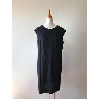 コス(COS)のcos ブラックワンピース ドレス チュニック(ひざ丈ワンピース)